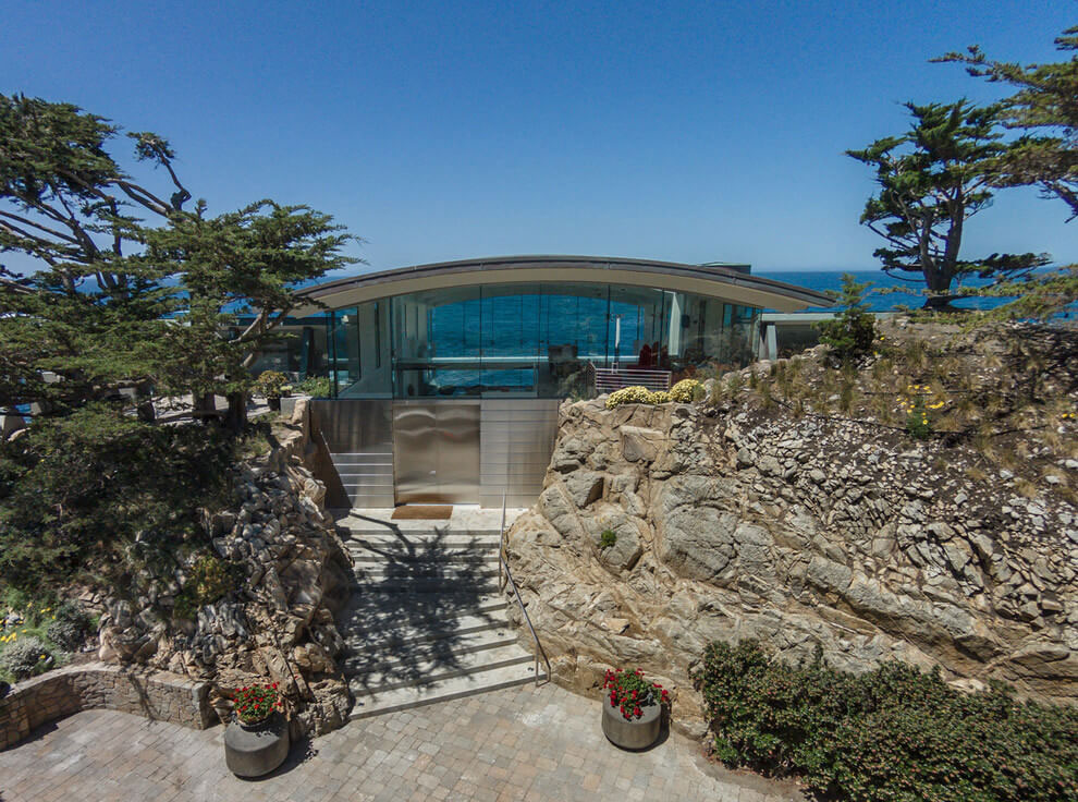Modern Configuration of Carmel Highlands Residence With Awesome Sea Views by Eric Miller Architects-12