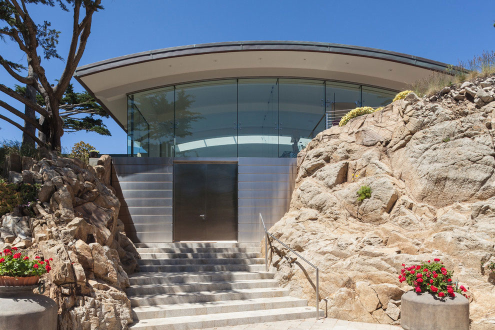 Modern Configuration of Carmel Highlands Residence With Awesome Sea Views by Eric Miller Architects-13