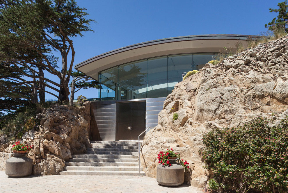 Modern Configuration of Carmel Highlands Residence With Awesome Sea Views by Eric Miller Architects-15