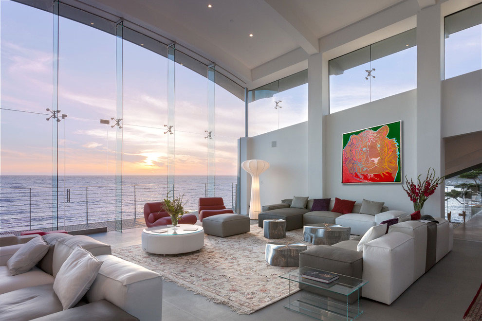Modern Configuration of Carmel Highlands Residence With Awesome Sea Views by Eric Miller Architects-18