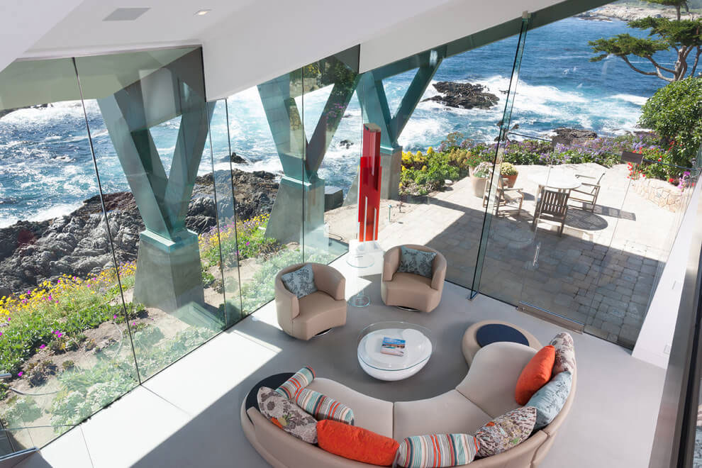 Modern Configuration of Carmel Highlands Residence With Awesome Sea Views by Eric Miller Architects-22
