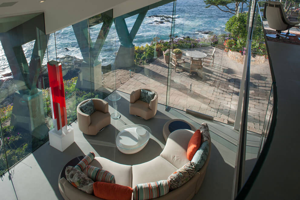 Modern Configuration of Carmel Highlands Residence With Awesome Sea Views by Eric Miller Architects-23