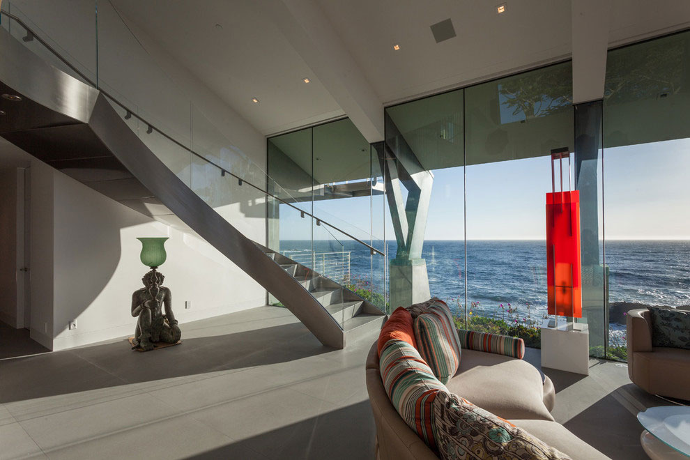 Modern Configuration of Carmel Highlands Residence With Awesome Sea Views by Eric Miller Architects-24