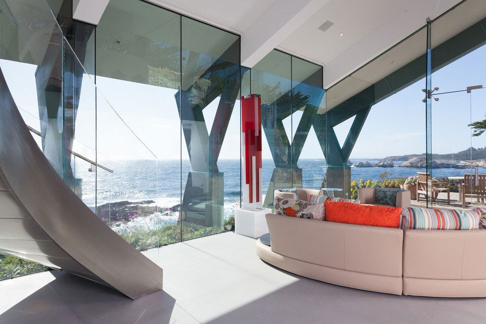 Modern Configuration of Carmel Highlands Residence With Awesome Sea Views by Eric Miller Architects-25