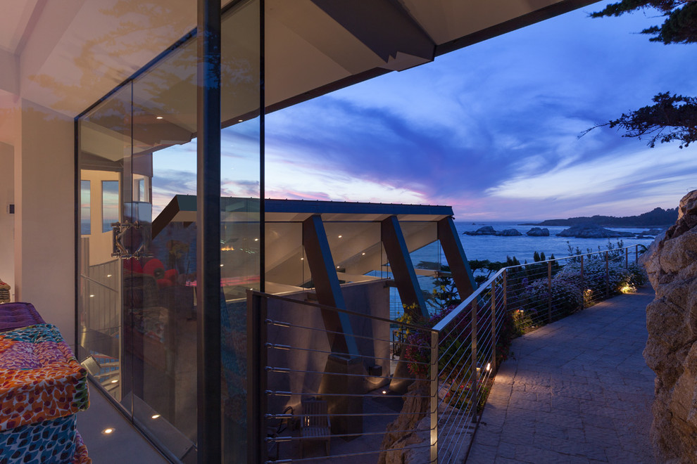 Modern Configuration of Carmel Highlands Residence With Awesome Sea Views by Eric Miller Architects-49
