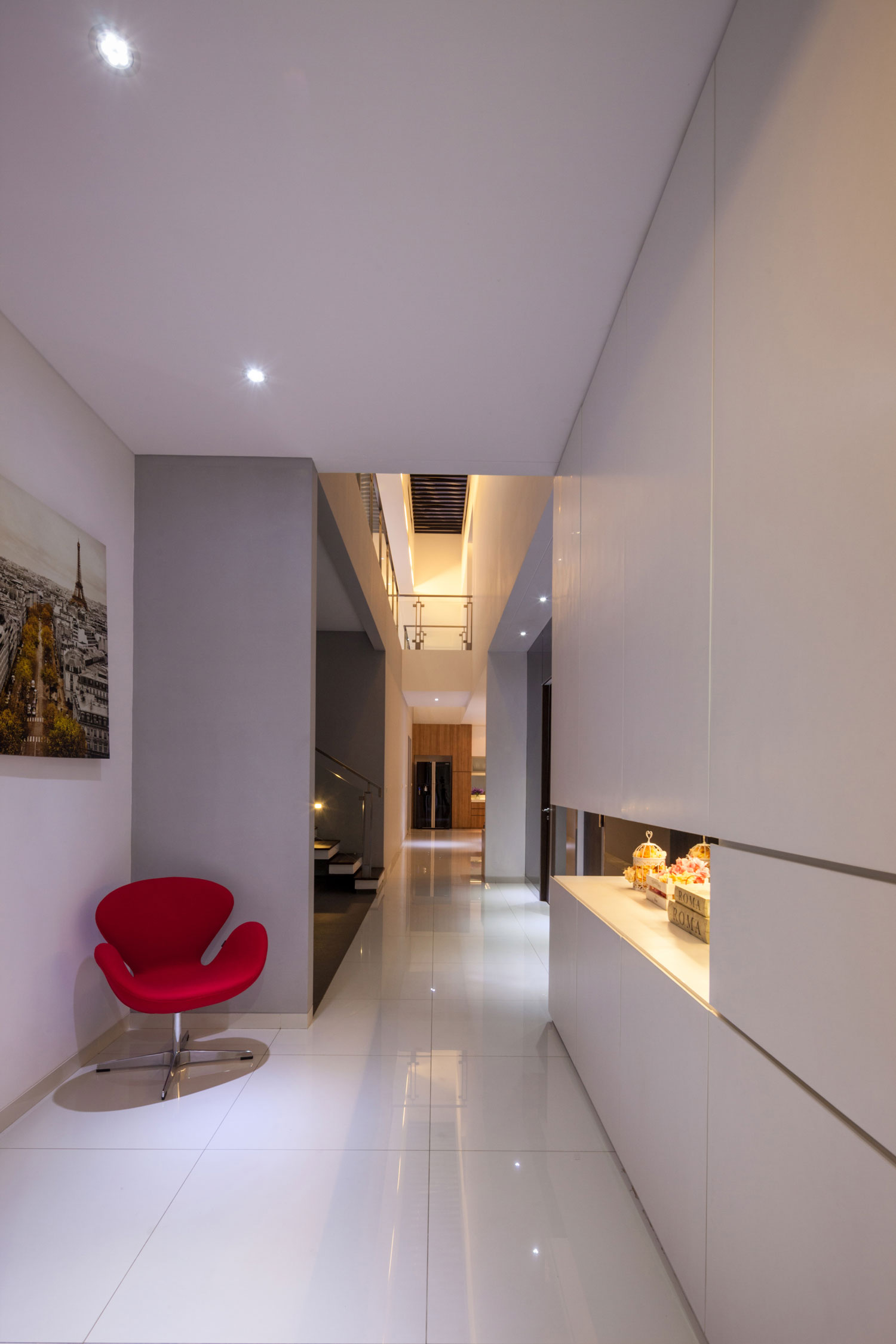 Modern D+S House Located in Jakarta by DP+HS architects-06