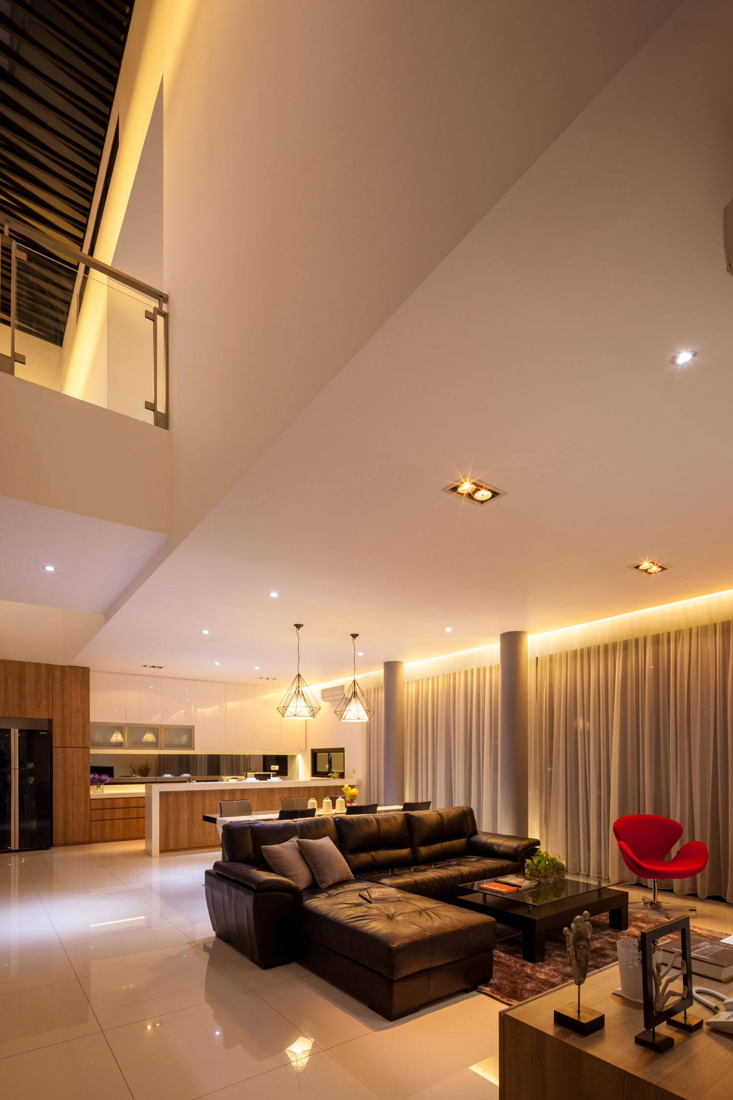 Modern D+S House Located in Jakarta by DP+HS architects-15