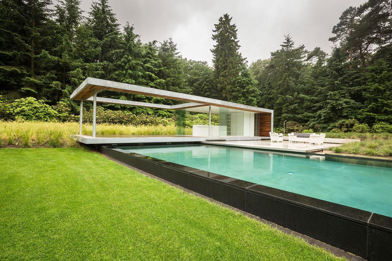 Modern Huizen Country House Located in a Quiet Rural Setting by De Brouwer Binnenwerk-02