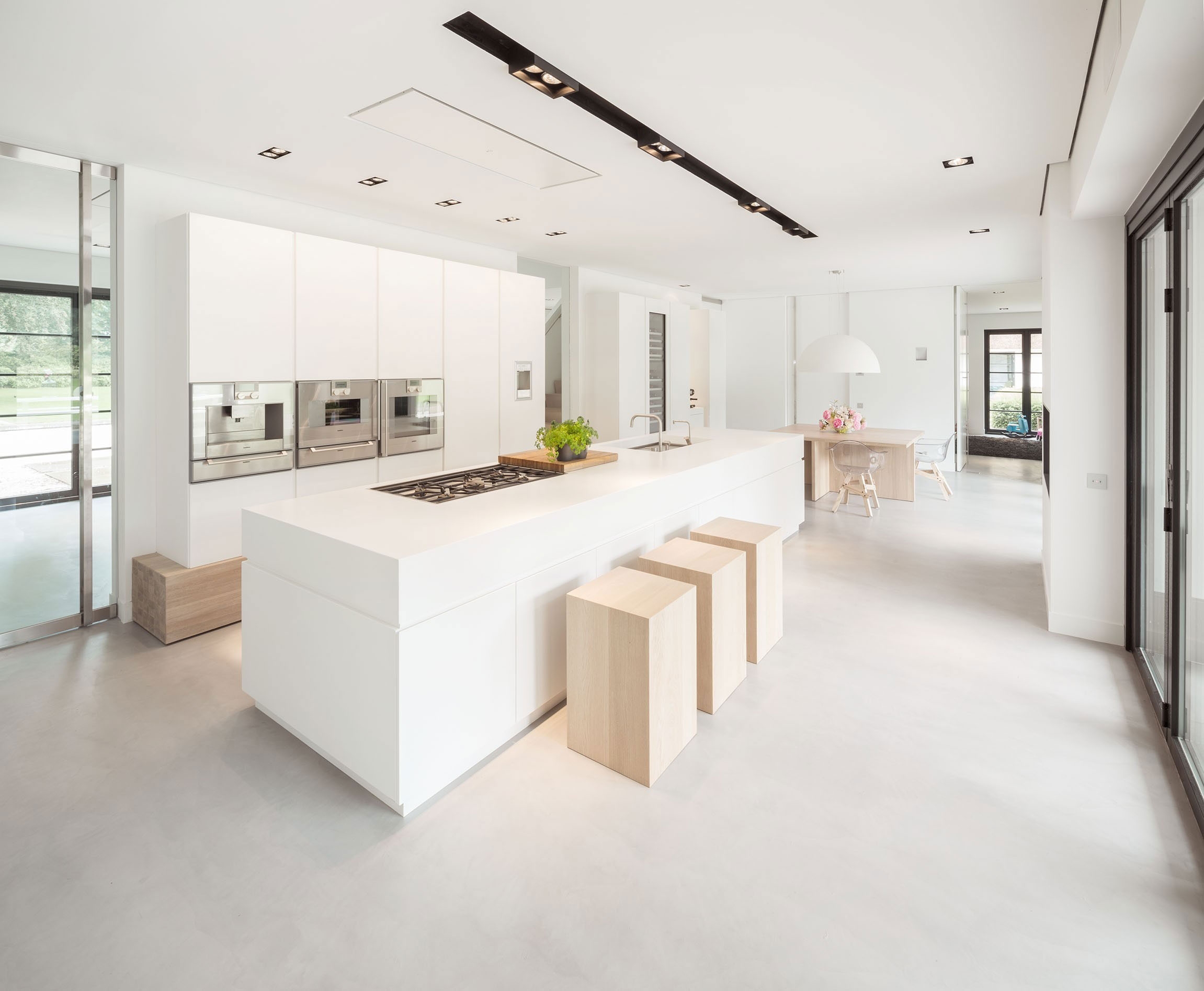 Modern Huizen Country House Located in a Quiet Rural Setting by De Brouwer Binnenwerk-08