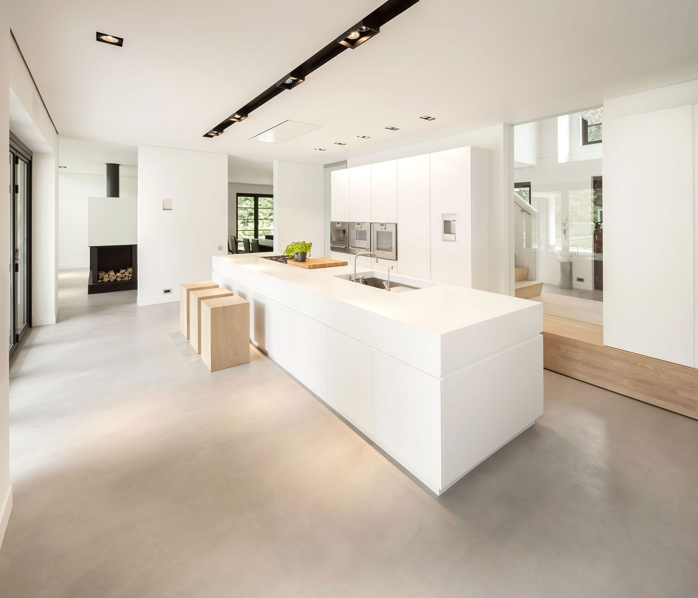 Modern Huizen Country House Located in a Quiet Rural Setting by De Brouwer Binnenwerk-09