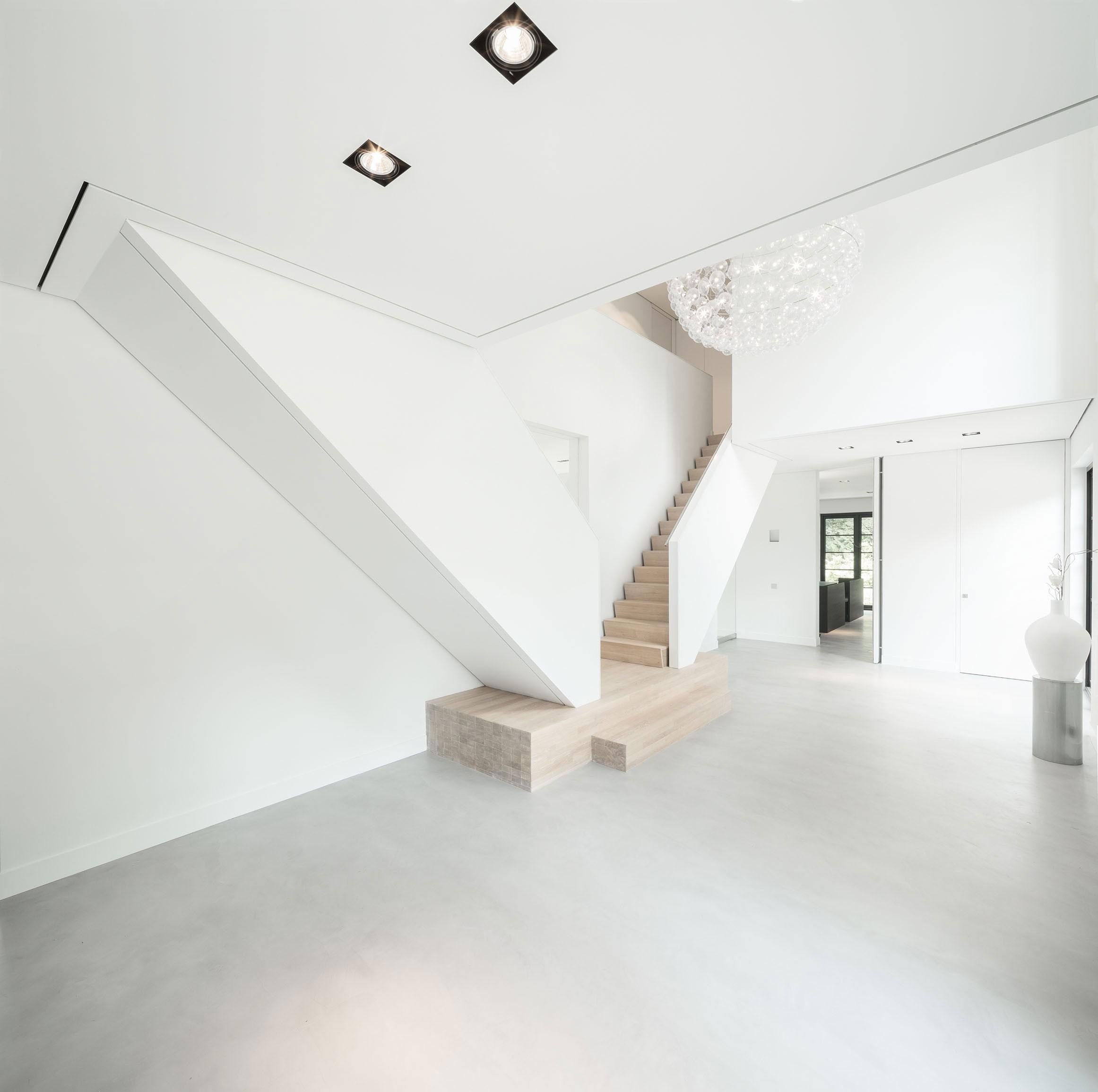 Modern Huizen Country House Located in a Quiet Rural Setting by De Brouwer Binnenwerk-13