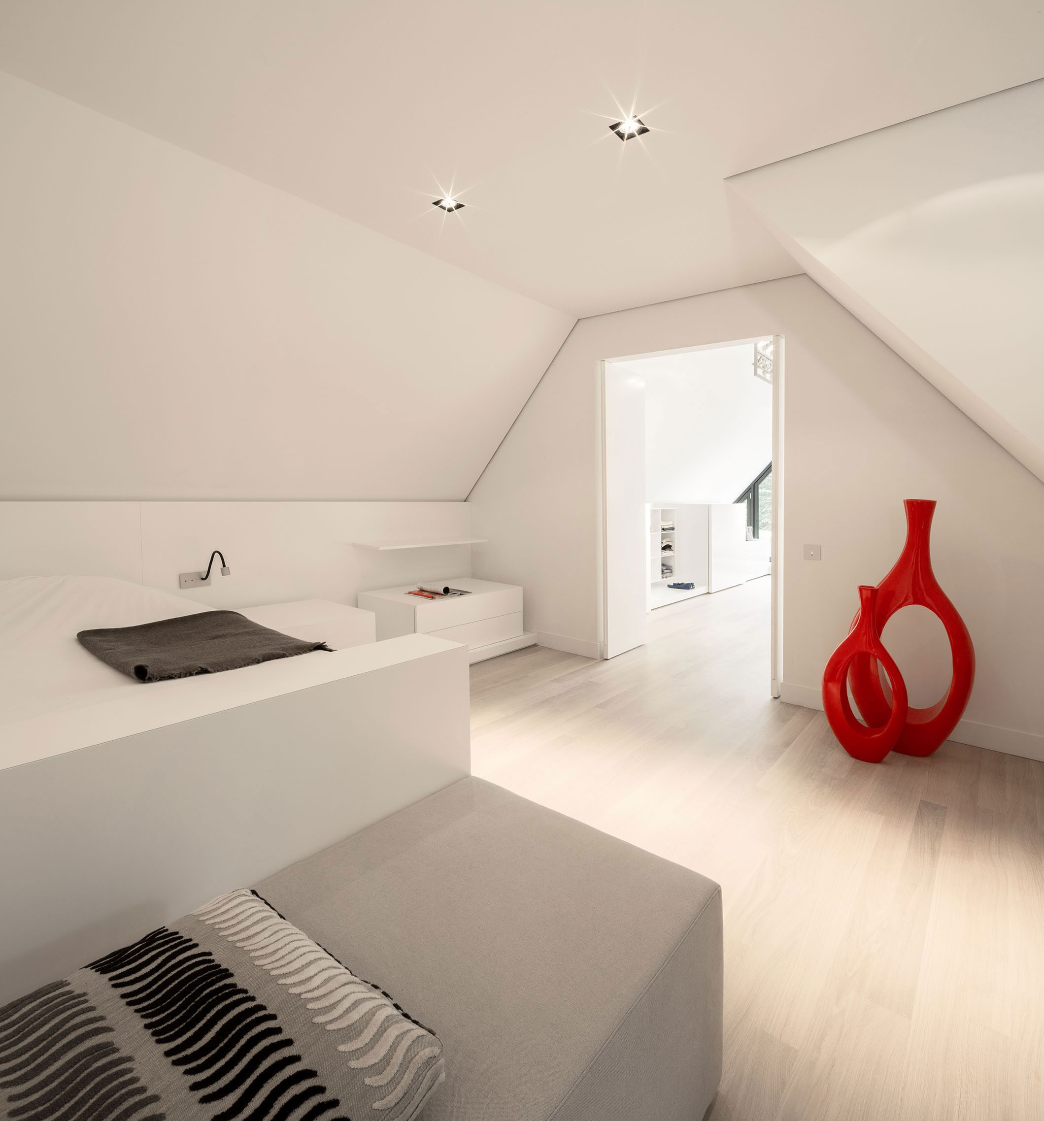Modern Huizen Country House Located in a Quiet Rural Setting by De Brouwer Binnenwerk-16