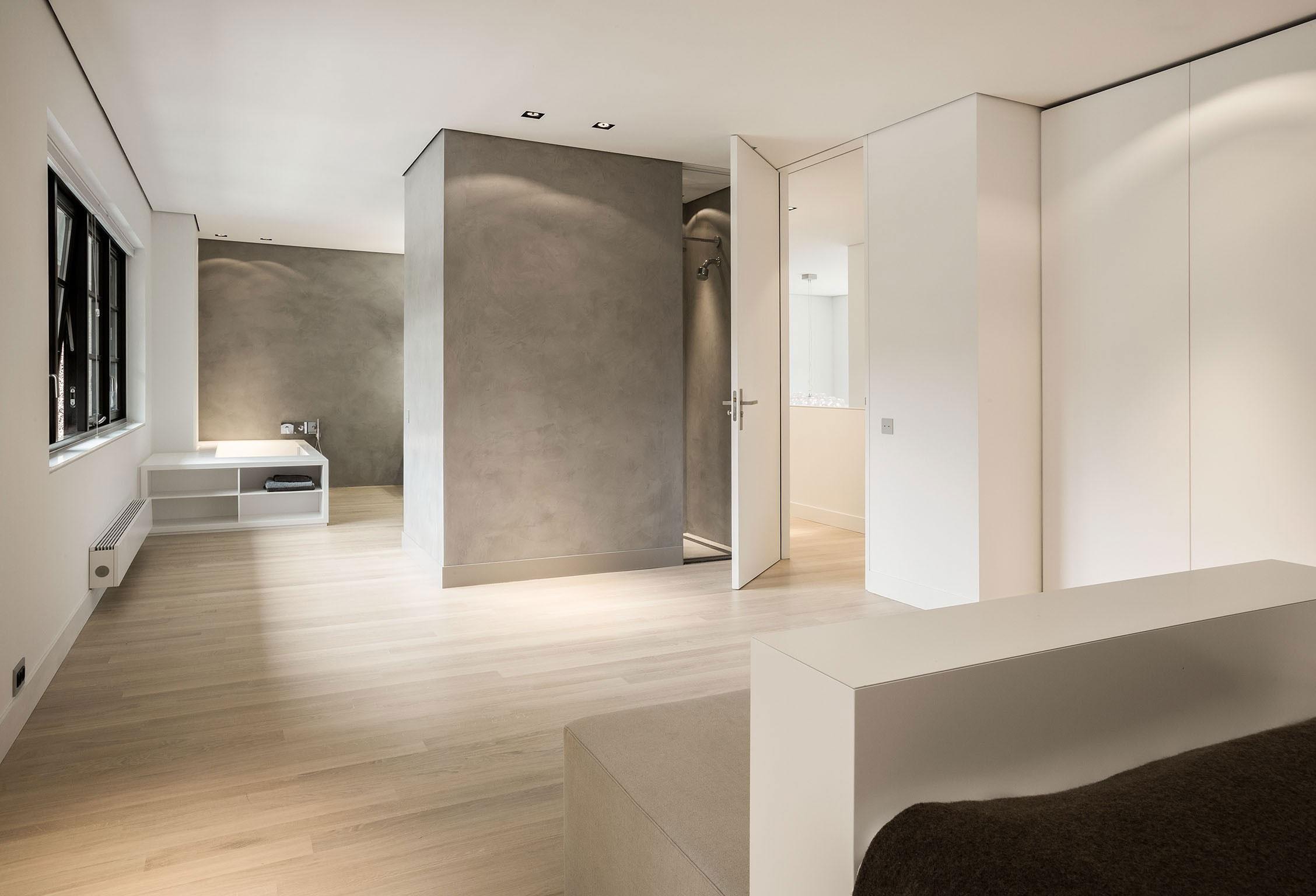 Modern Huizen Country House Located in a Quiet Rural Setting by De Brouwer Binnenwerk-17