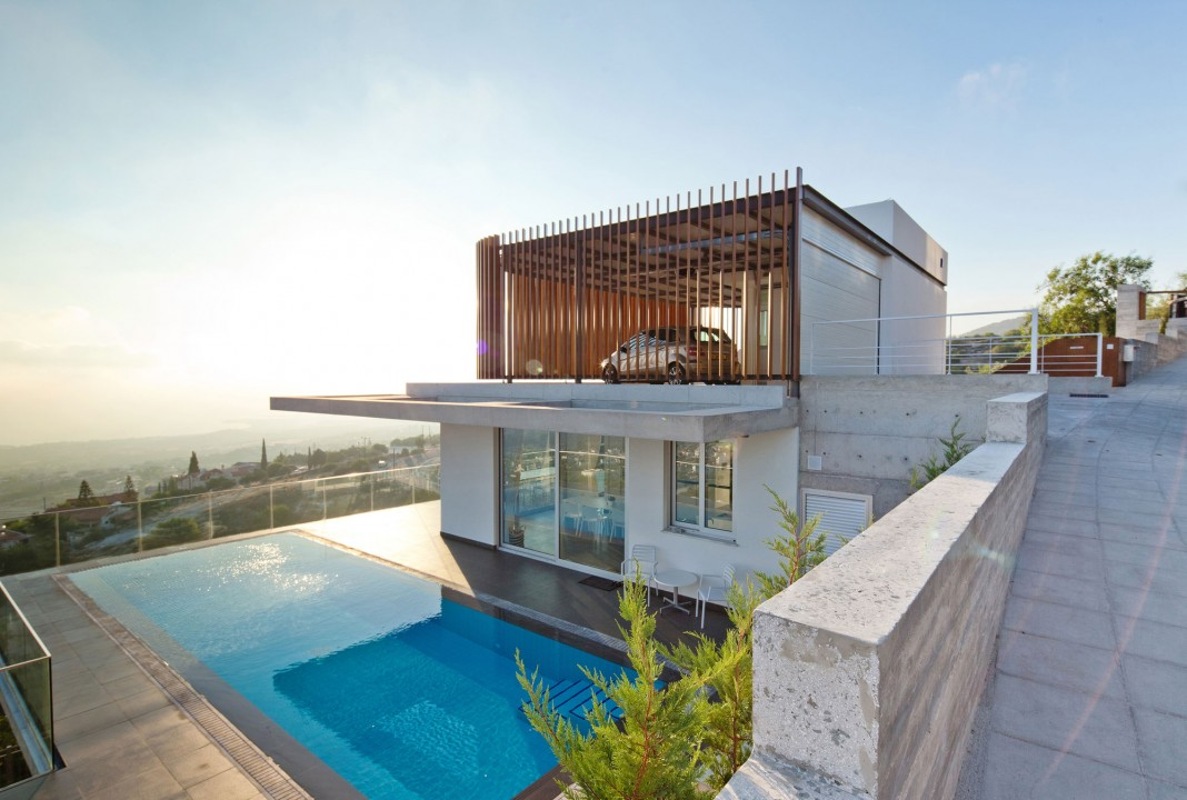 Modern Prodromos and Desi Residence in Paphos by Vardastudio Architects & Designers
