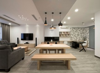 Modern SC Apartment in the Heart of Hanoi by Le Studio