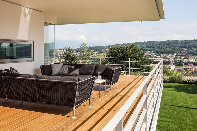Modern Villa For a Couple with Three Children in Treviso by Zaetta Studio-05