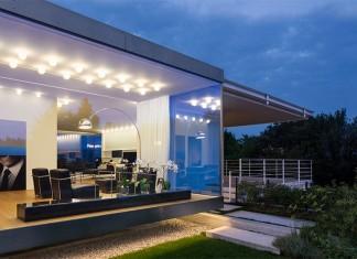 Modern Villa For a Couple with Three Children in Treviso by Zaetta Studio