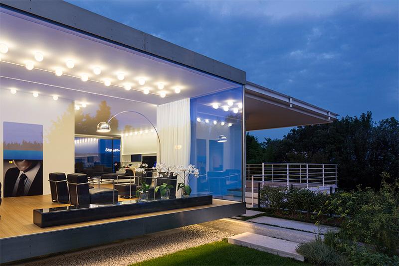 Modern Villa For a Couple with Three Children in Treviso by Zaetta Studio-06