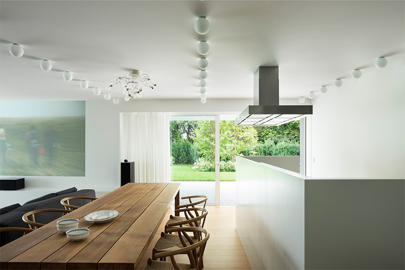 Modern Villa For a Couple with Three Children in Treviso by Zaetta Studio-09