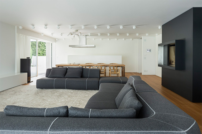 Modern Villa For a Couple with Three Children in Treviso by Zaetta Studio-13