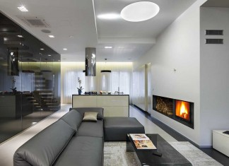 NNS Modern Apartment in Saint Petersburg by Mudrogelenko