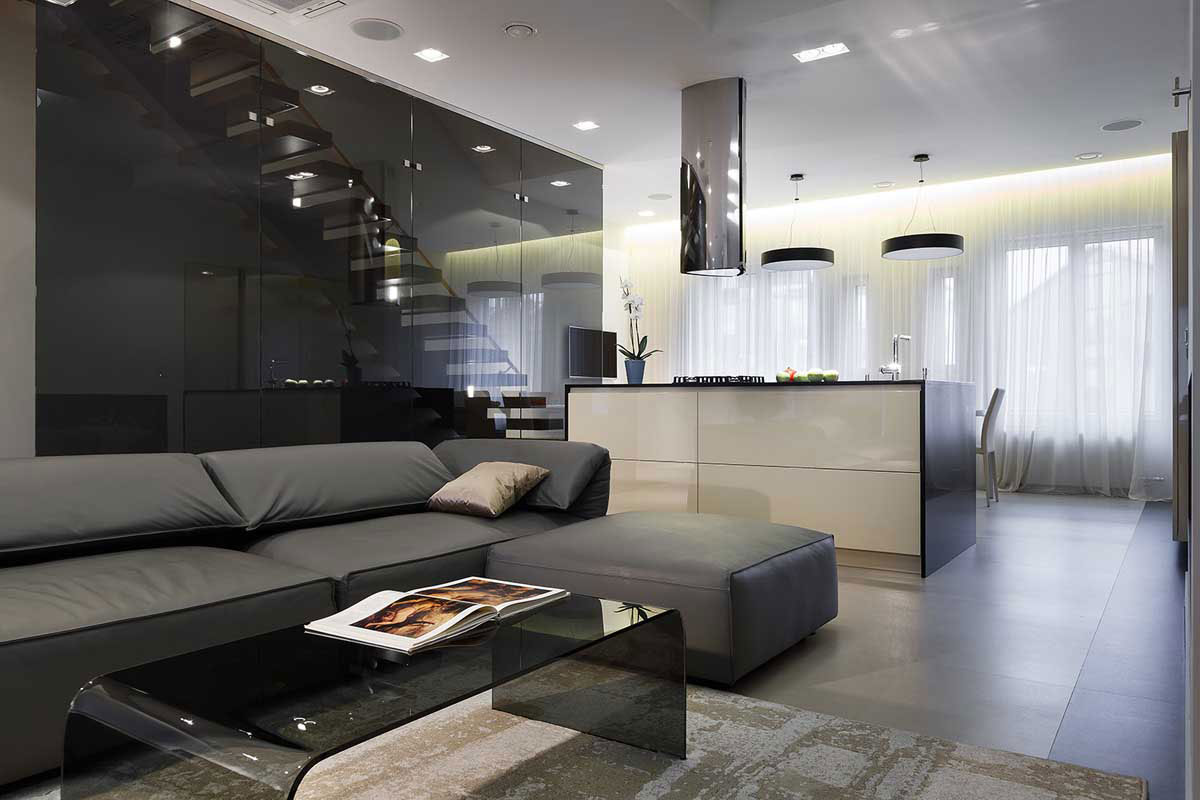 Nns modern apartment in saint petersburg by mudrogelenko Modern 1 bedroom apartments
