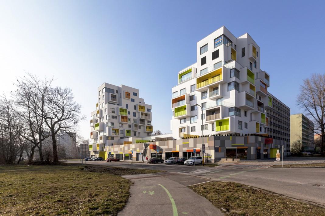 New Grove residential building by Architekti Šebo Lichý