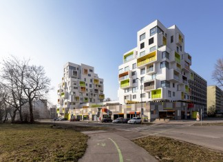 New Grove residential building by Architekti Šebo Lichý