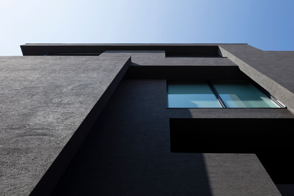 OKM 4 story building designed for a private residence and apartment in Tokyo by Artechnic-16