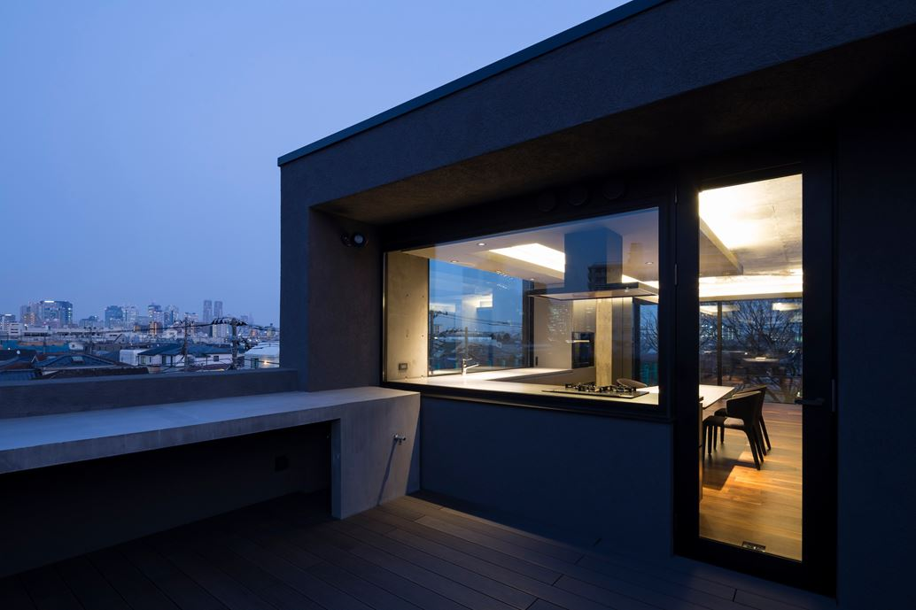 OKM 4 story building designed for a private residence and apartment in Tokyo by Artechnic-22