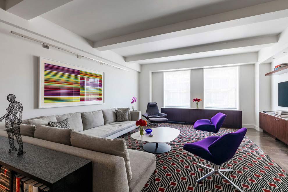 Park Avenue Contemporary Apartment by Pier, Fine Associates-02