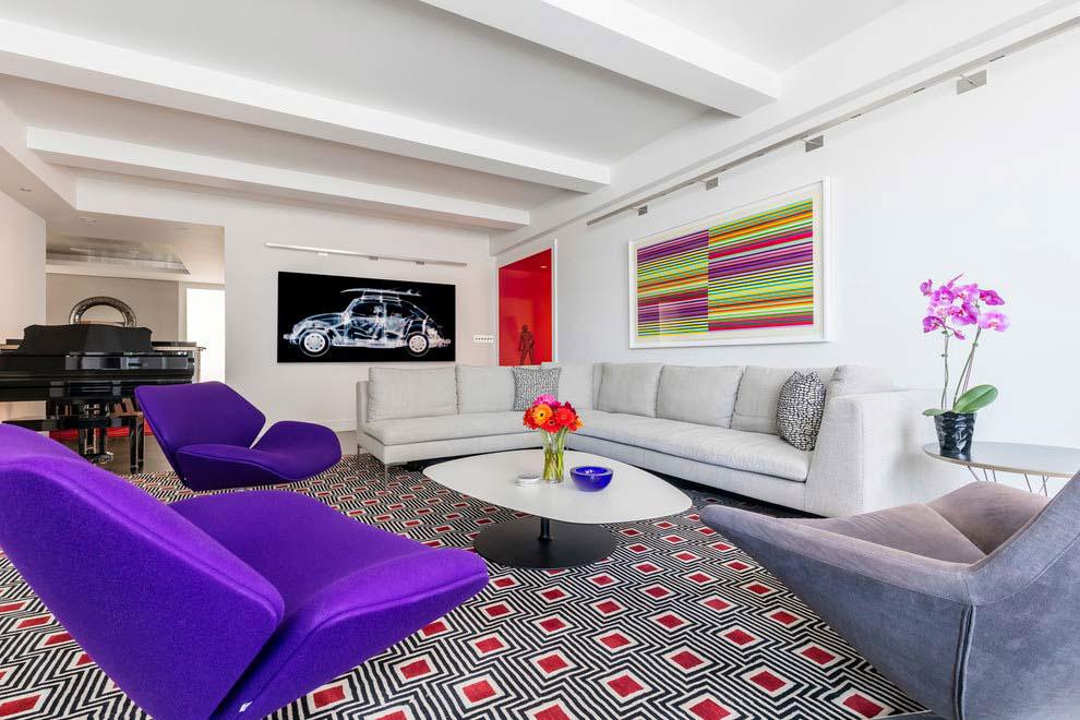 Park Avenue Contemporary Apartment by Pier, Fine Associates-04