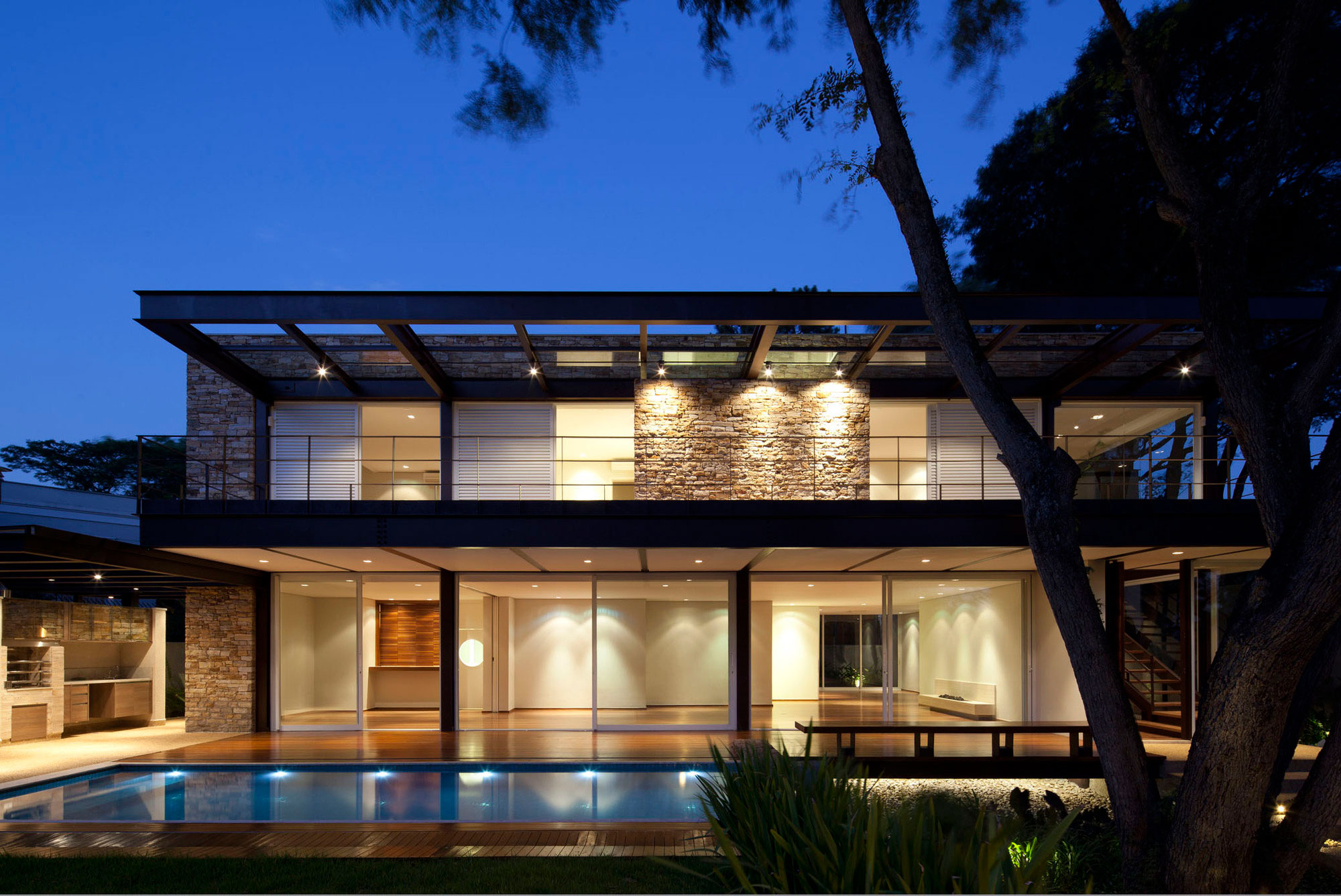 Pau Brasil House by Vasco Lopes Arquitetura-13