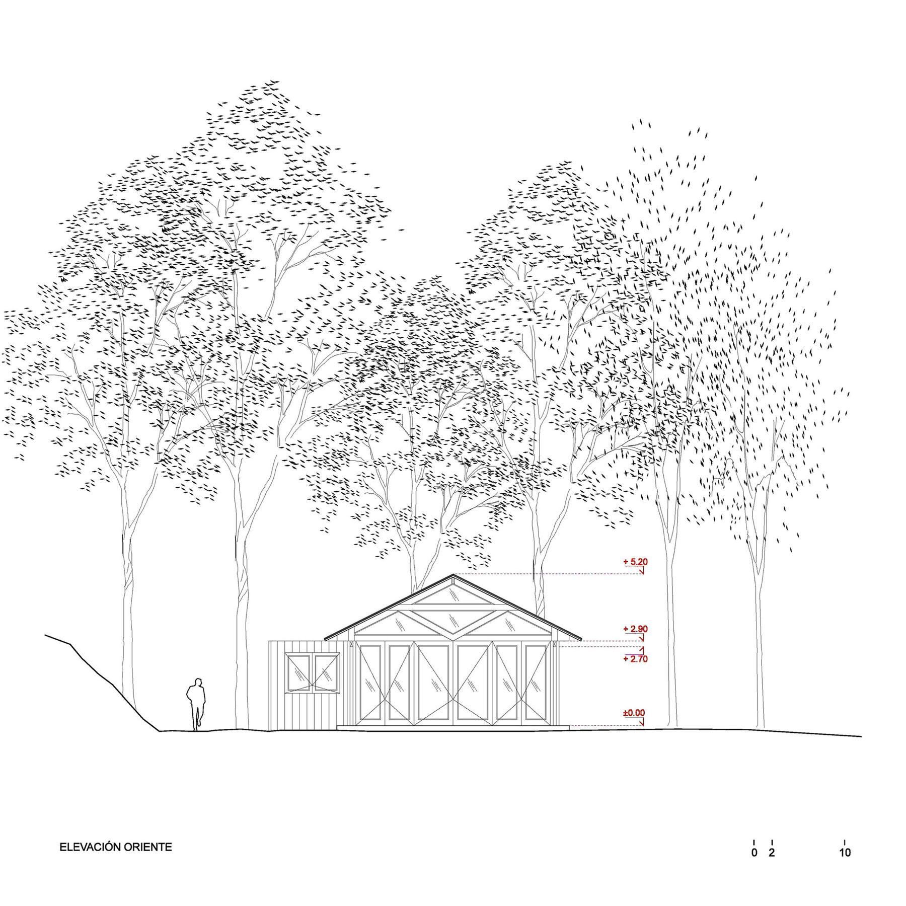 Rustic Barn House near Lake Ranco by Estudio Valdés Arquitectos-17
