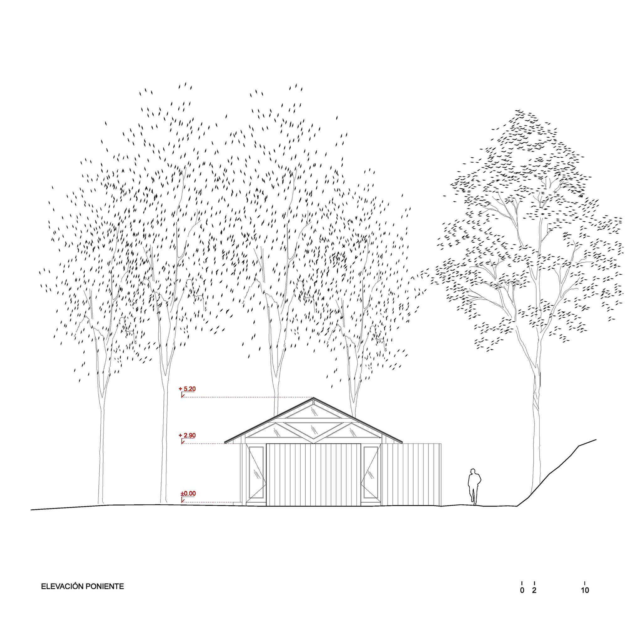 Rustic Barn House near Lake Ranco by Estudio Valdés Arquitectos-18