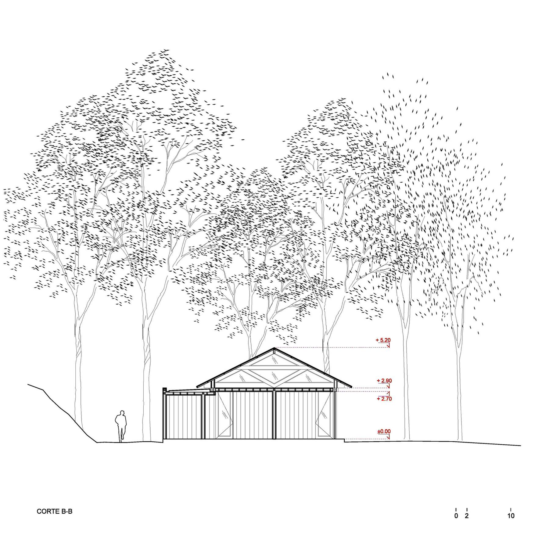 Rustic Barn House near Lake Ranco by Estudio Valdés Arquitectos-20