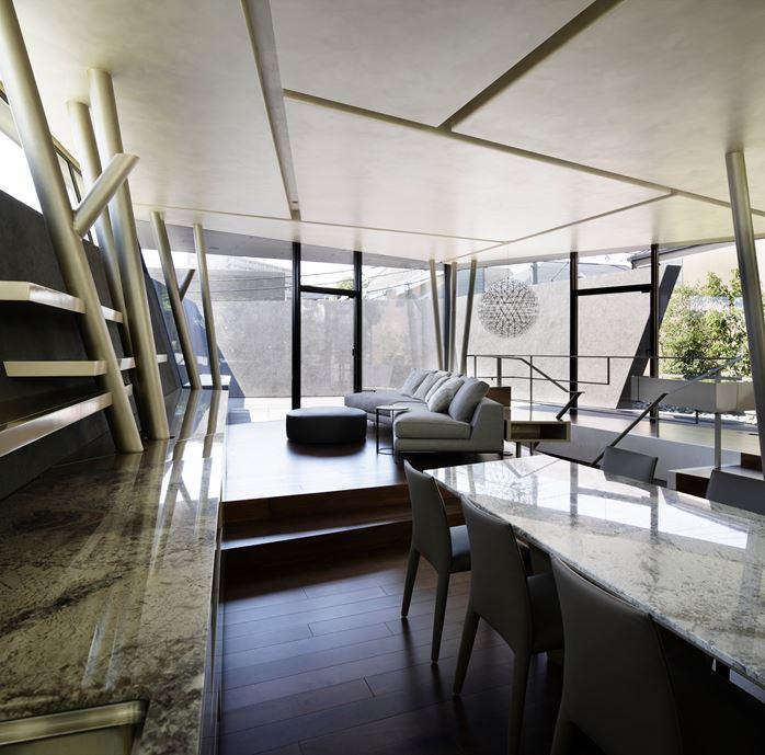 SRK Home in Meguro, Japan by Artechnic-05
