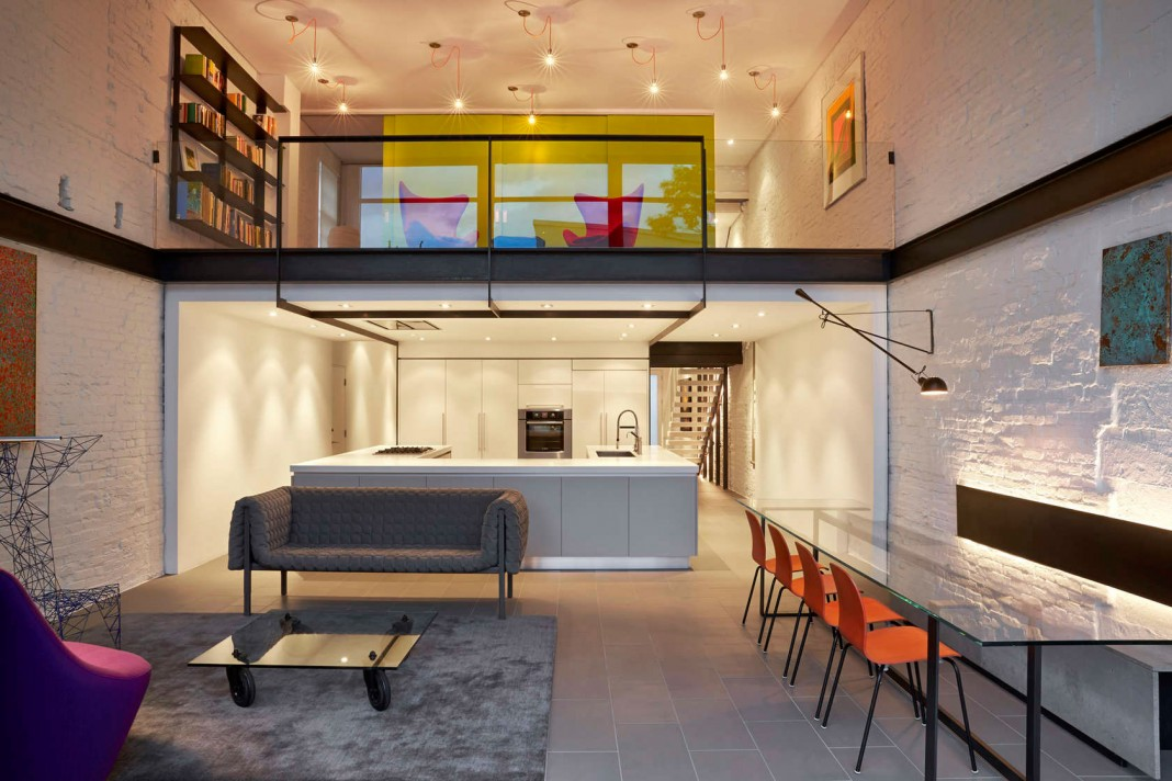 Salt and Pepper House in Washington, D.C. by KUBE Architecture