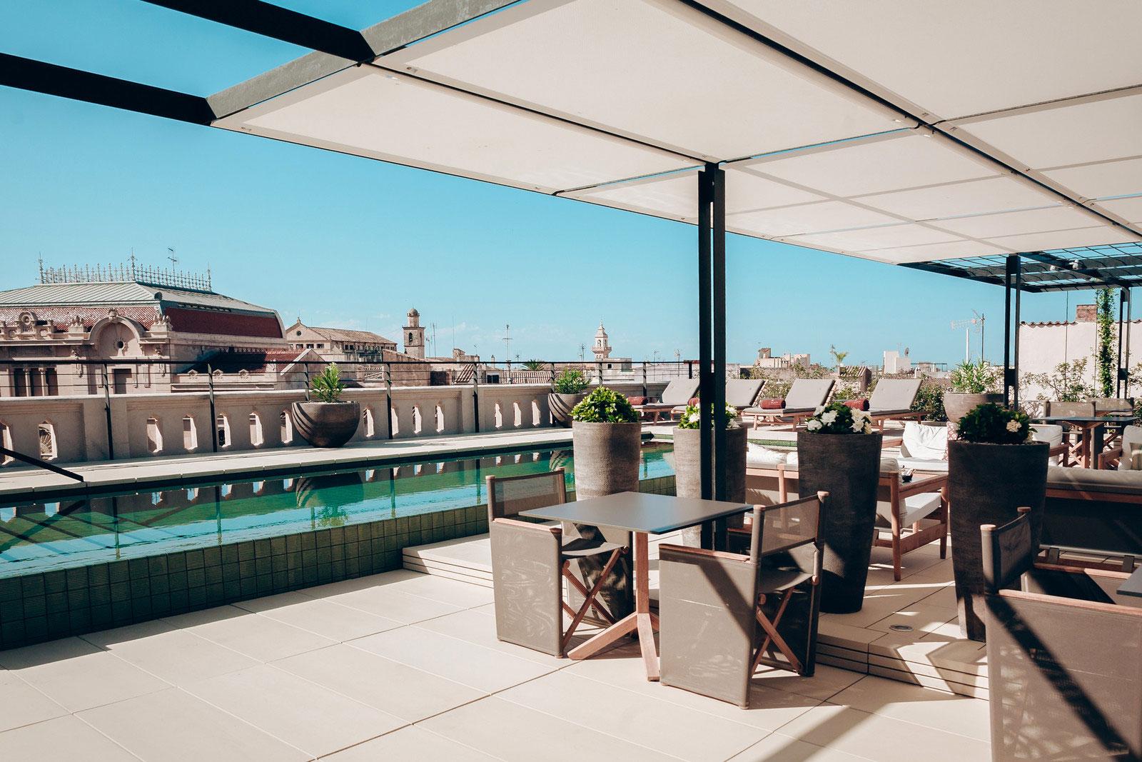 San francesc hotel in palma de mallorca caandesign for Top design hotels mallorca