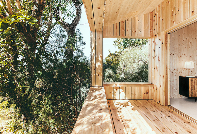 Sant Cugat Wood Studio House by Dom Arquitectura-03