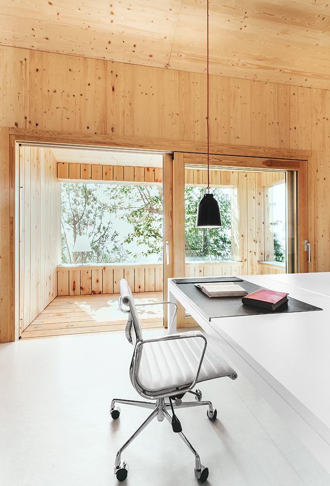 Sant Cugat Wood Studio House by Dom Arquitectura-08