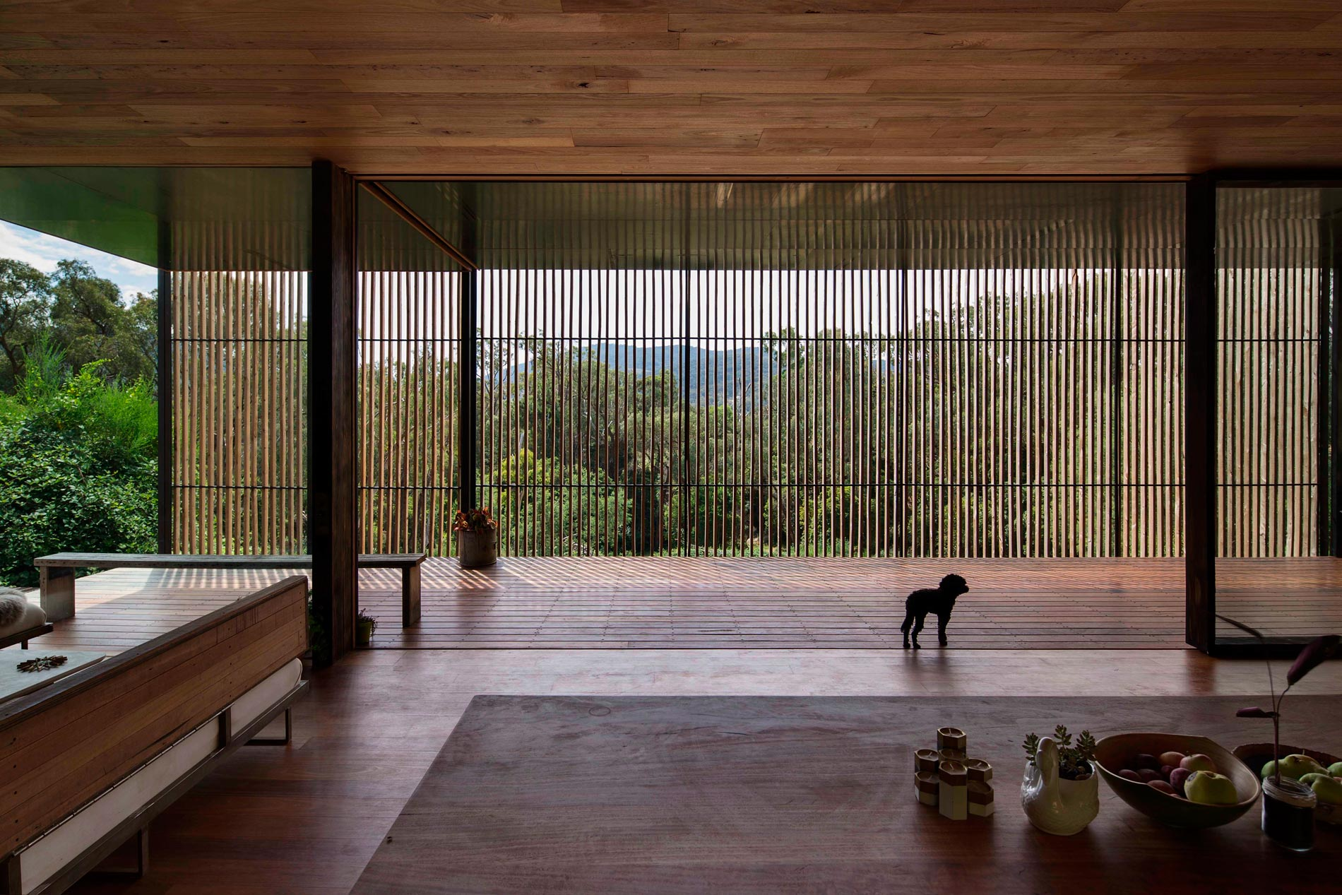 Sawmill House built of Reclaimed Concrete Blocks Used by ARCHIER-15