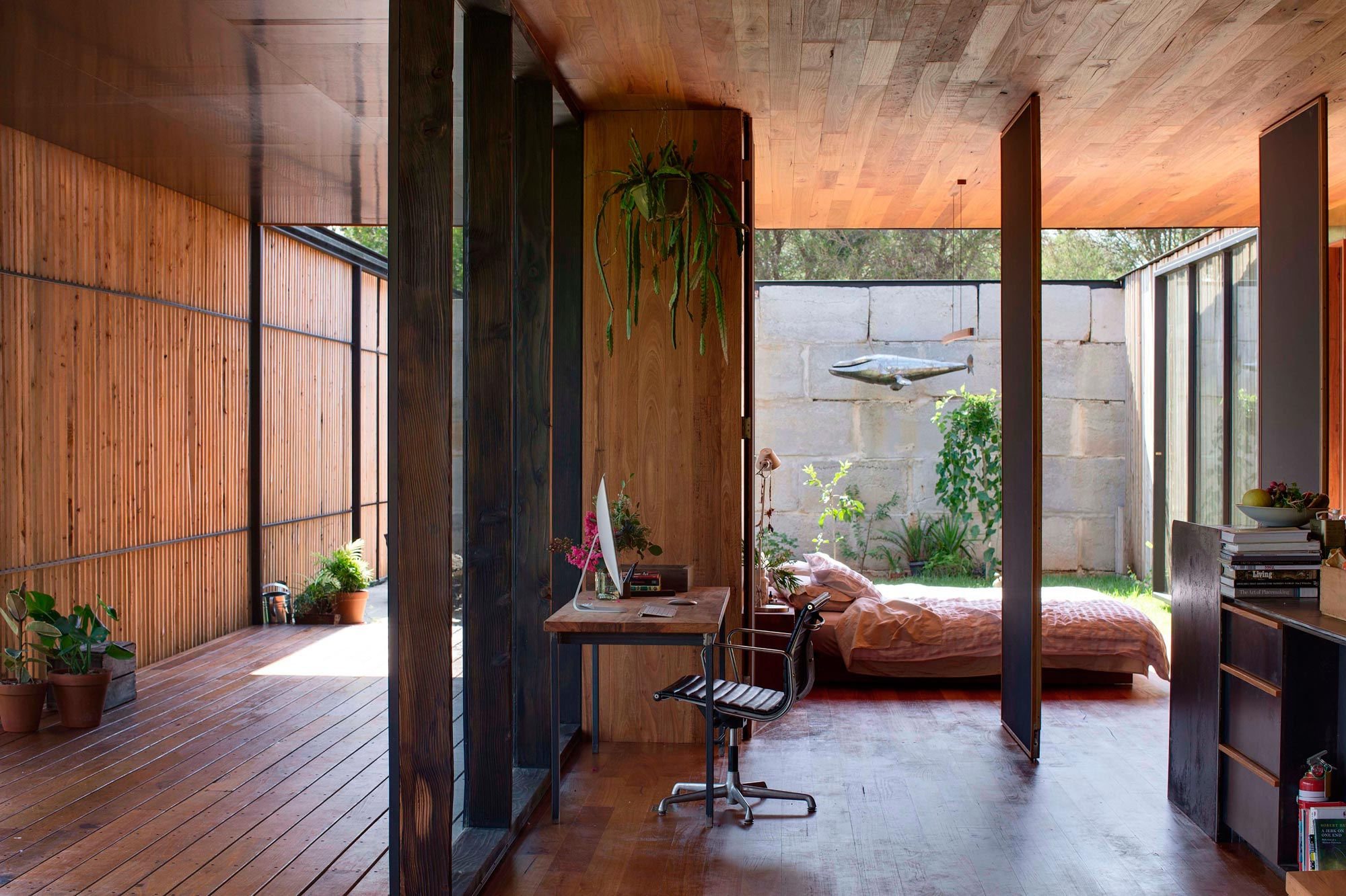 Sawmill House built of Reclaimed Concrete Blocks Used by ARCHIER-24