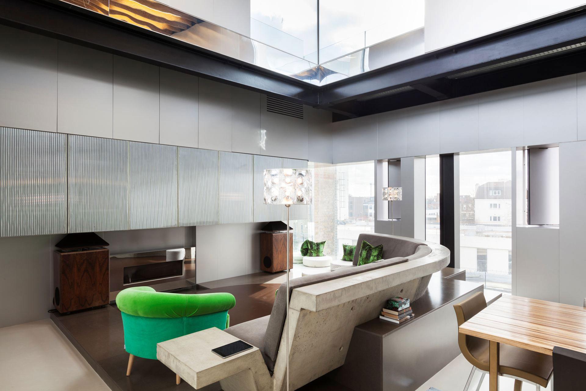 Silverlight Home in West London by Adjaye Associates-03