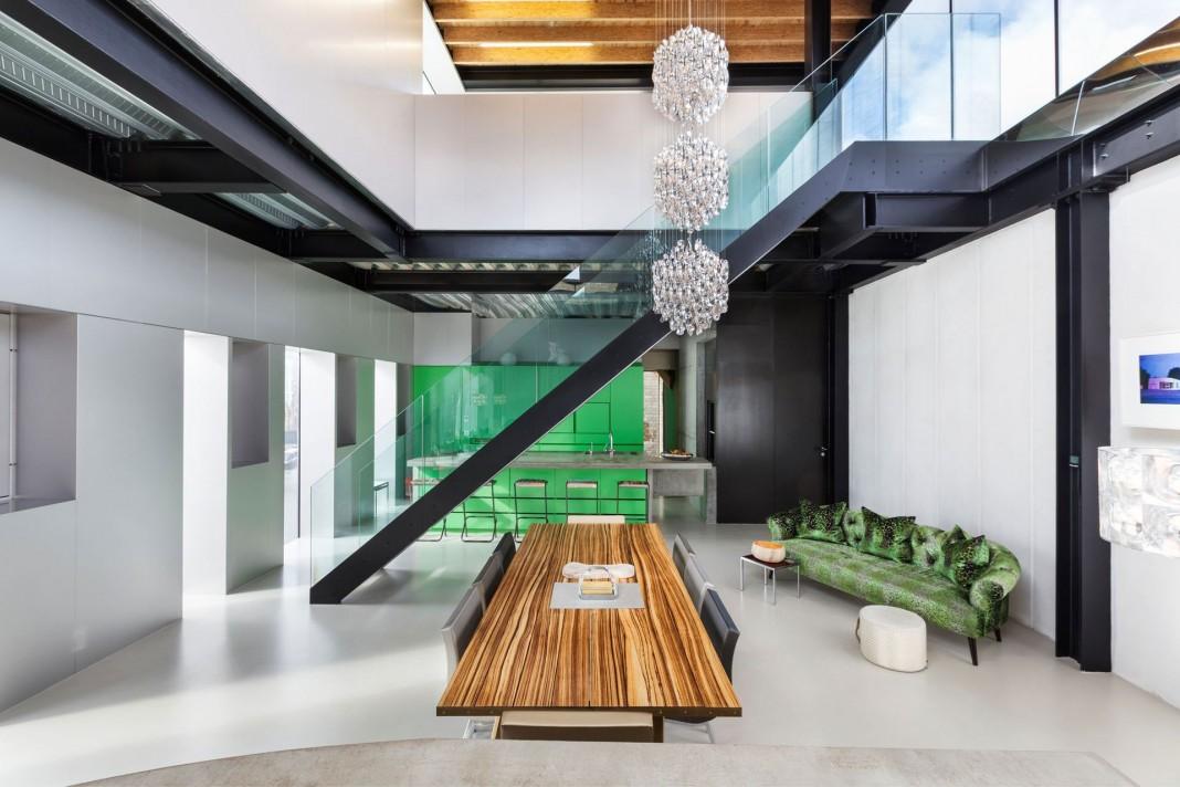 Silverlight Home in West London by Adjaye Associates
