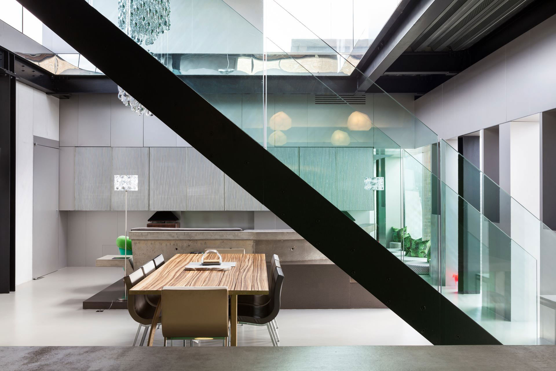Silverlight Home in West London by Adjaye Associates-09