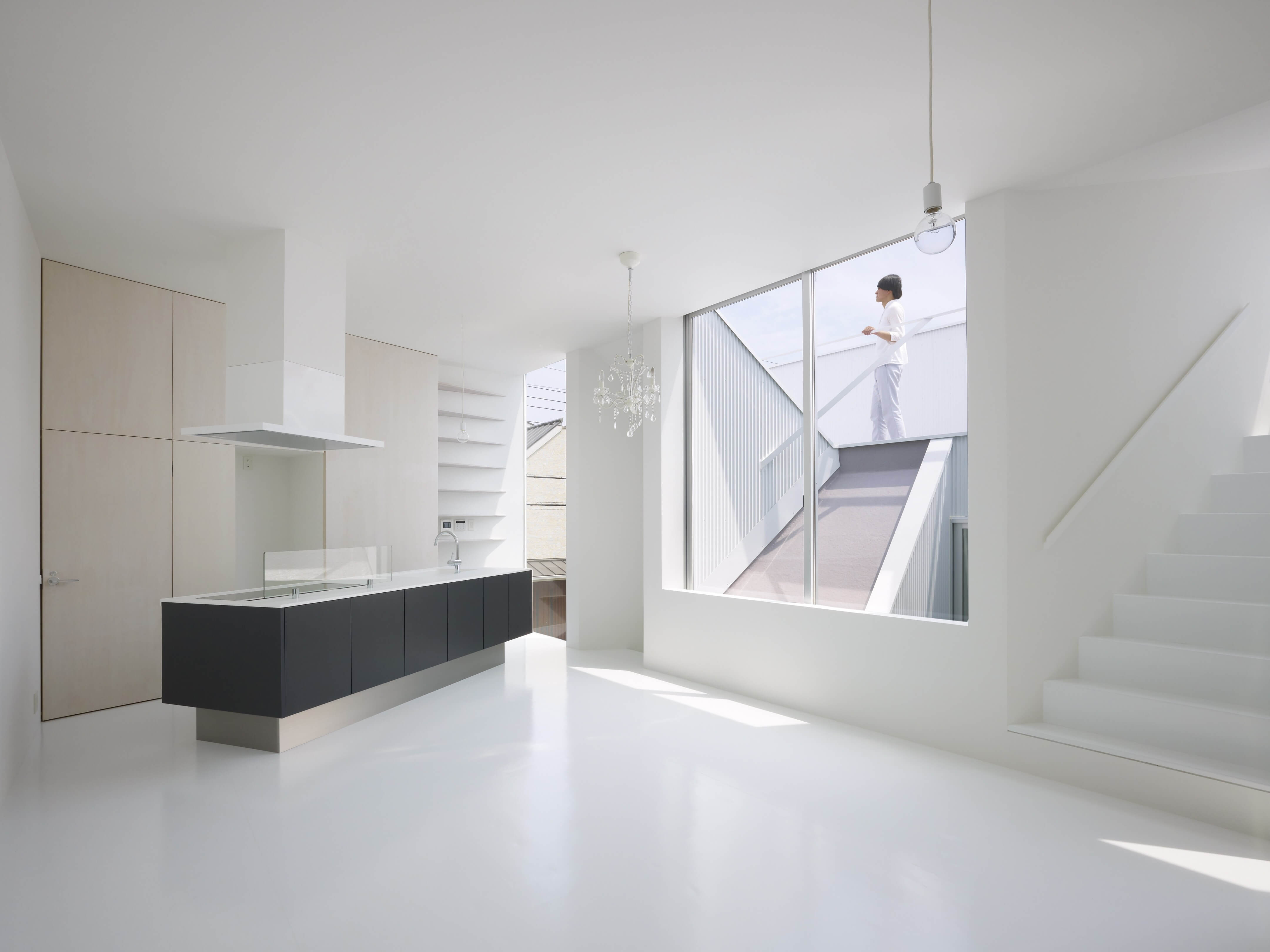 Slice of the City Residence in Hyogo by Alphaville Architects-04