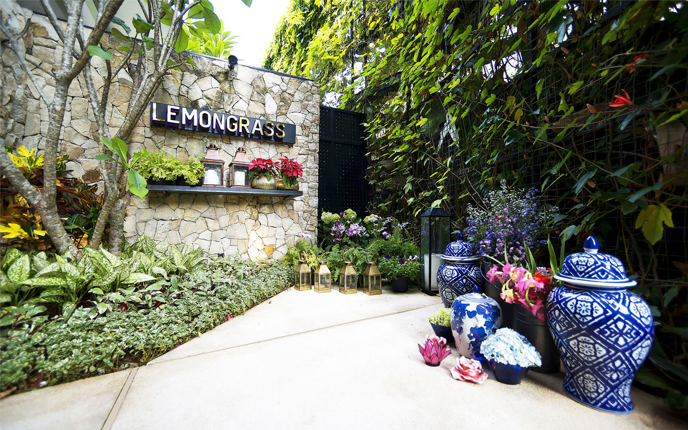 Stylish Tropical Paradise Theme of Lemongrass Restaurant Designed by Einstein & Associates-01