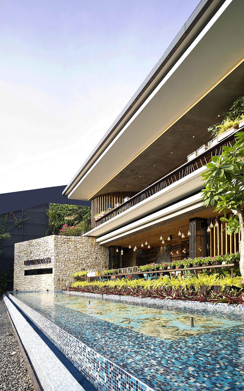 Stylish Tropical Paradise Theme of Lemongrass Restaurant Designed by Einstein & Associates-03