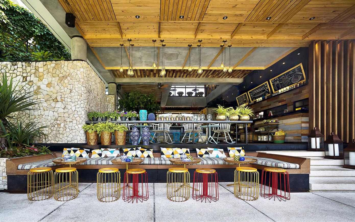 Stylish Tropical Paradise Theme of Lemongrass Restaurant Designed by Einstein & Associates-05
